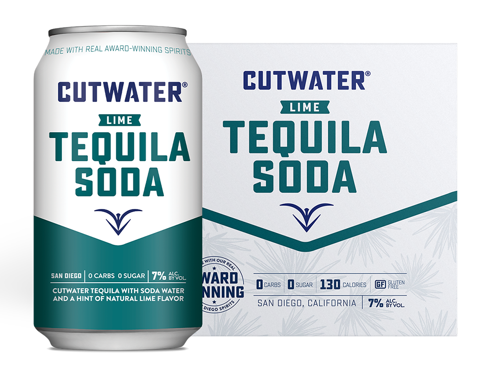 Cutwater Tequila Soda 4-Pack