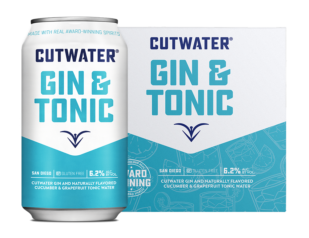 Gin & Tonic Can & 4-Pack
