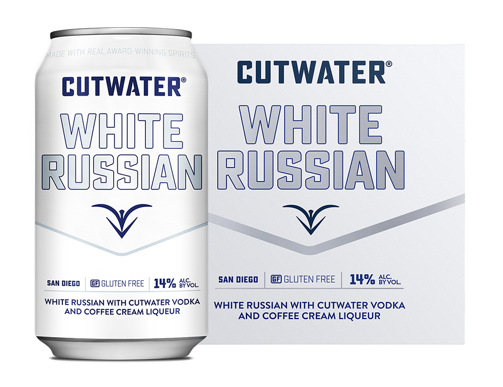 White Russian Can & 4-Pack