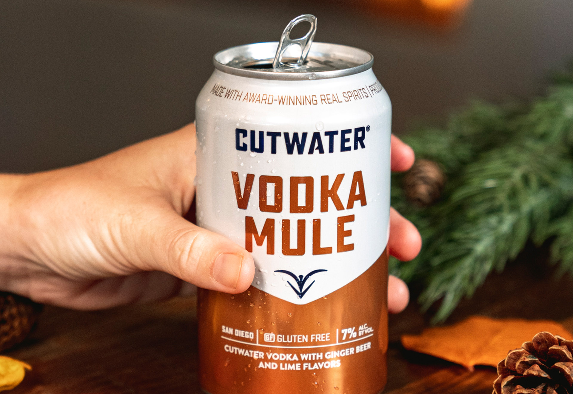 Vodka Mule at Thanksgiving