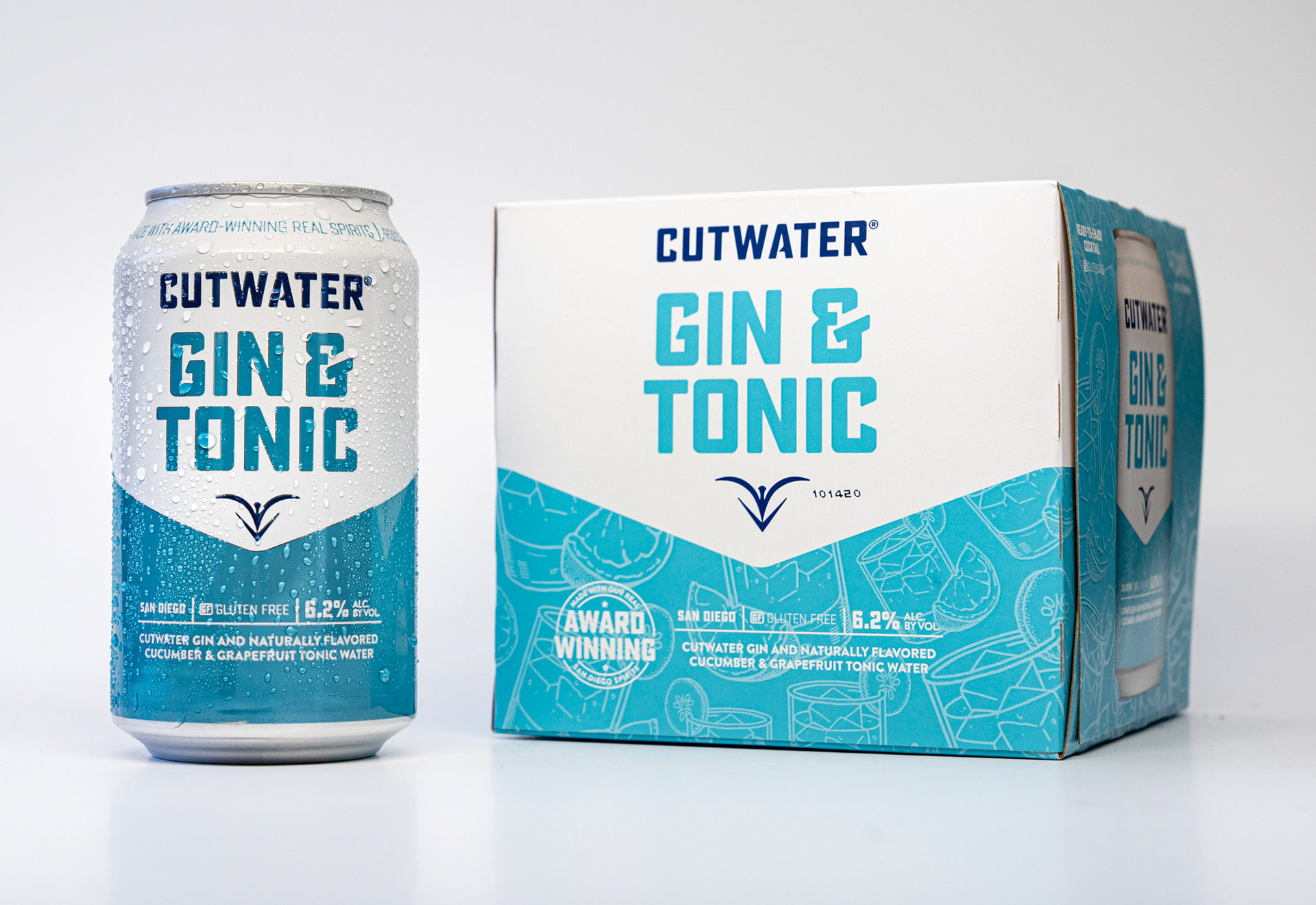Gin Tonic Can & 4-Pack