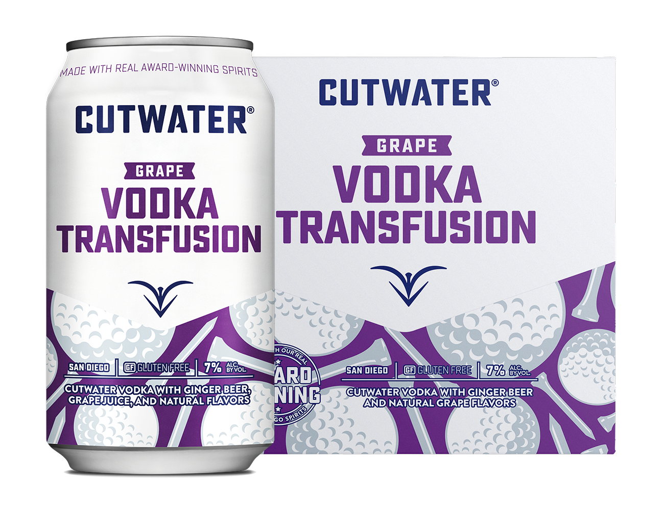 Cutwater Vodka Transfusion Can & 4-Pack